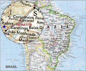 Map of Hematita