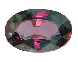 Alexandrite under mixed light