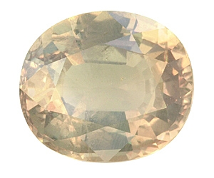 Gemmy Color Change Alexandrite Oval 5.08cts.