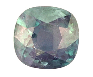 Certified Natural Alexandrite Cushion 4.12cts