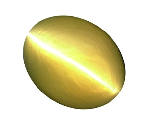 Sharp Chrysoberyl Cat's Eye Oval 2.29cts.