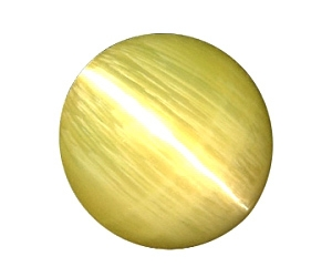 Stunning Chrysoberyl Cat's Eye Round 6.10cts