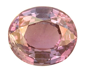Strong Color Change Oval Alexandrite 1.47ct.