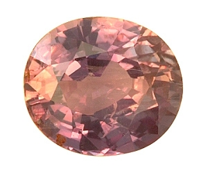 Cettified Strong Change Alexandrite Oval 2.15cts.