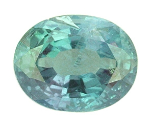 Certified Natural Alexandrite Oval 1.03cts.