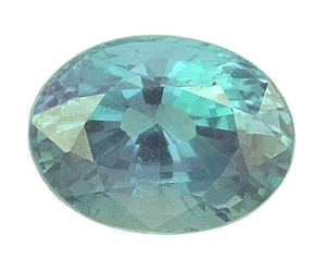 Certified Natural Alexandrite Oval 1.01cts.