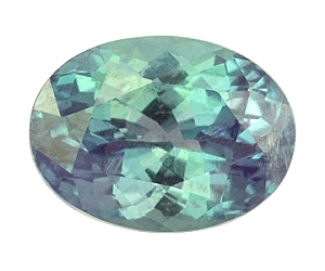 Certified Natural Alexandrite Oval 1.23cts