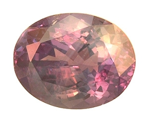 Certified Natural Alexandrite Oval 2.70cts.