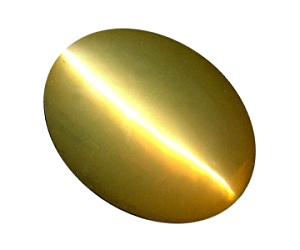 Chrysoberyl Cat's Eye Oval 2.53cts.