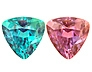 Strong Color Change Alexandrite Trillion