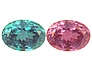 Fine Strong Color Change Alexandrite Oval