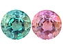 Fine Strong Color Change Alexandrite Round