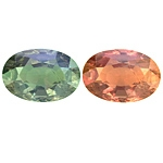 Certified Natural Alexandrite Oval 4.81cts.