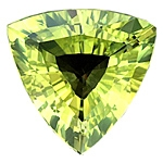 Bright 13.6mm Chrysoberyl Trillion 8.25cts.