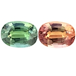 Certified Natural Alexandrite Oval 1.85cts.