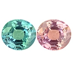 Top Blue Green Alexandrite Oval 2.15cts.