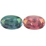 Certified Natural Alexandrite Oval 1.31cts.