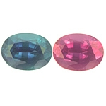 Certified Strong Color Change Alexandrite 1.04cts.