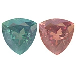 Certified Natural  Alexandrite Trillion 2.03cts.