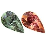 Certified Natural Alexandrite Pear 3.06ct.