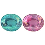 Certified Natural Alexandrite Oval 1.09cts.
