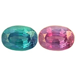 Certified Natural Alexandrite Oval 1.34cts.