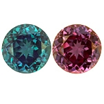 Top Gem 6mm Strong Change Alexandrite 1.19cts.