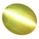 Sharp Chrysoberyl Cats Eye Cab 3.29cts.