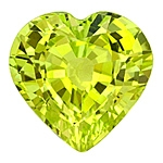 Attractive Tanzanian Chrysoberyl Heart.